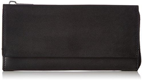 Marc O'Polo Damen W40 Geldbörse, Schwarz (Black), 3x10.5x20 cm