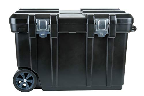 Flambeau Outdoors 6531BK Rolling Gear Storage Chest and Tool Box with Lift-Out Tray, 31-Inch