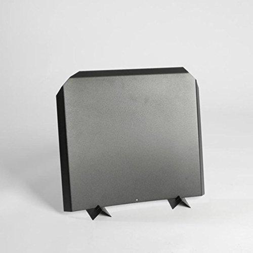 Stainless Steel Firebacks, Painted Black - 16