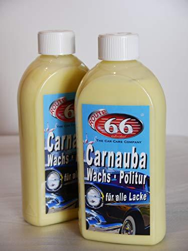 Carnauba Wachs Politur 2 x 500 ml
