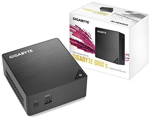 Gigabyte GB-BLCE-4105 Barebone PC/Workstation BGA 1090 1,50 GHz J4105 UCFF schwarz – PC/Workstation (BGA 1090, Intel® Celeron®, 1,50 GHz, J4105, 14 nm, 2,50 GHz)