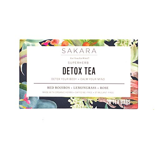 Sakara Superherb Herbal Tea for Detox and Metabolism 20pk
