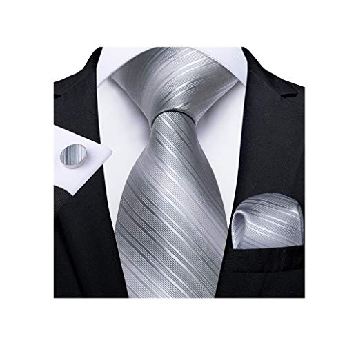 WYBFZTT-188 Corbata de Seda para Hombre Corbata de Boda para Hombres Gemelos Conjunto Conjunto de Moda diseñador de Moda (Color : C)