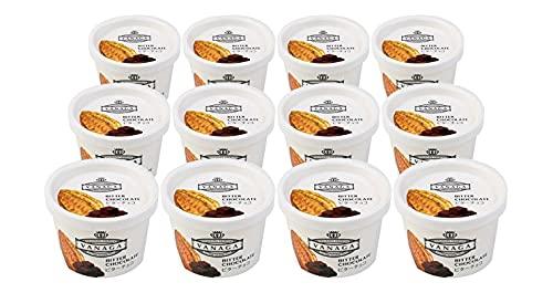 無添加アイスクリーム 木次 VANAGA ビターチョコ 120ml×12個 ★ クール冷凍便 ★ 天然素材100パーセント