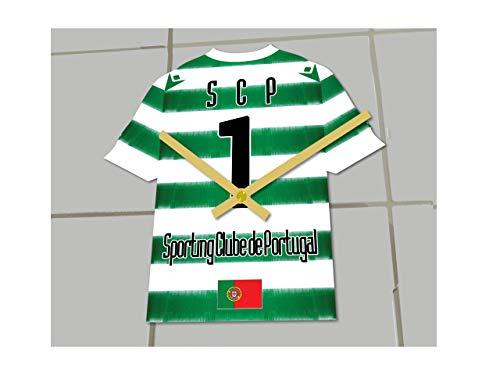 MyShirt123 Sporting Limon FC Football Club – Orologio da Calcio – Qualsiasi Nome e Numero – a Scelta