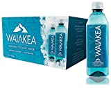 Waiakea Hawaiian Volcanic Water, Naturally Alkaline, 100% Recycled Bottle, 500mL (Pack of 24), 16.9 Fl Oz (Pack of 24)
