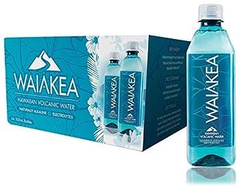 Waiakea Hawaiian Volcanic Water Naturally Alkaline 100% Recycled Bottle 405.6 Fl Oz  Pack of 24