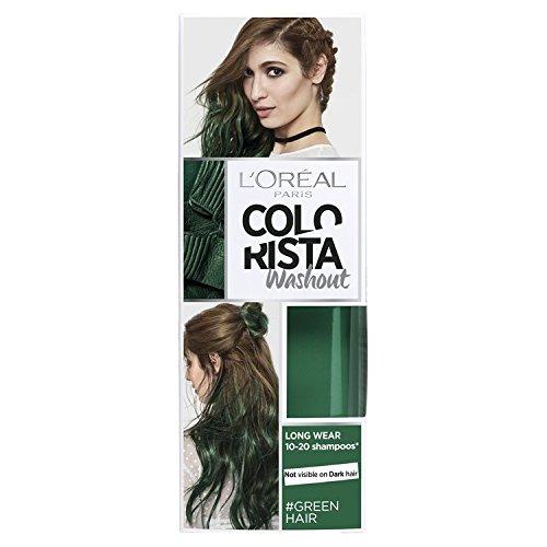 L 'Oreal colorista lavado verde semipermanente pelo, 80ml