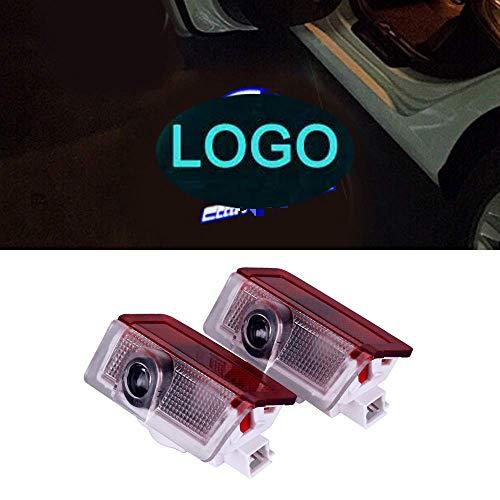 Auto Türbeleuchtung Autotür Logo Projektion Licht 3D Laser Licht Willkommen Licht LEd Door Shadow Lampe (For BenZ - 2PCS)