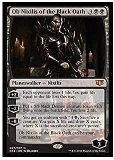 Magic: the Gathering - Ob Nixilis of the Black Oath - Oversized (027/337) - Commander 2014 - Foil