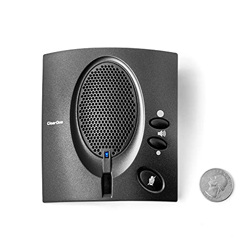 ClearOne CHAT 50 Portable USB speakerphone, powered by ClearOne's market-leading HDConference audio.