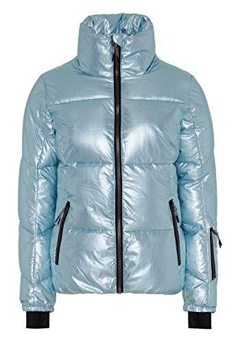 Chiemsee Skijacke in schimmernder Optik L L Blu/L Gry AOP