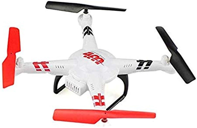 Kaiaki V686J-Drohne, V686-Upgrade-Luftbildfernbedienungsflugzeug, Quadcopter 5.8G FPV-Echtzeitübertragung, 6-Achsen-Gyroskop-UAV,Weiß