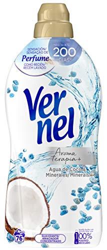Vernel Aromatherapie Weichspüler Erfrischendes Wasser aus Kokosnuss und Mineralien – 76 Wäschen