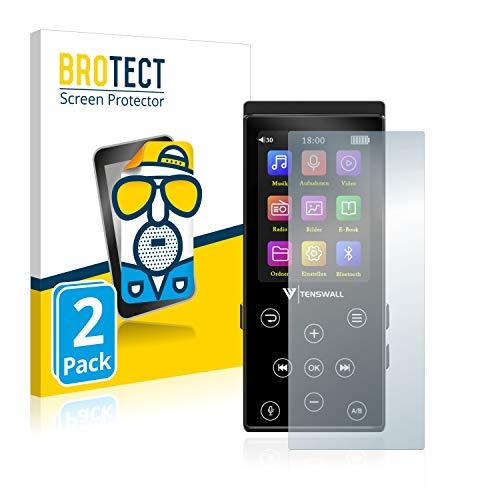 BROTECT 2X Entspiegelungs-Schutzfolie kompatibel mit Tenswall Supereye Bildschirmschutz-Folie Matt, Anti-Reflex, Anti-Fingerprint