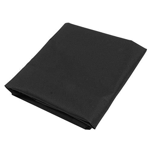 Eatbuy Funda para Silla - 56x50,8x10cm Funda Protectora Impermeable para Silla al Aire Libre Funda Protectora para Muebles para Uso en el jardín(Negro)