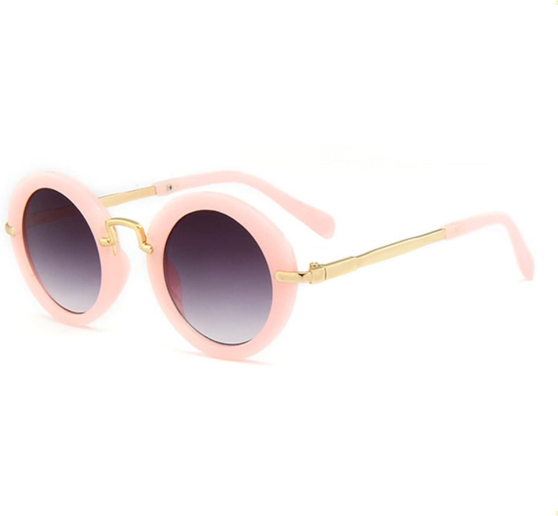 Round Frame Children's Sunglasses Fashion Children's Sunglasses Metal Frame Children's Glasses