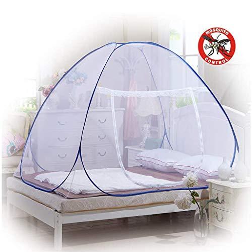 ASDF Pop-Up Mosquito Nets, Kuppel Zelt Design Outdoor Netto Freie Montage Und Falten Netze, Insekten Verhindern, Für Kinder Erwachsene (71 * 79 * 59 Inch)
