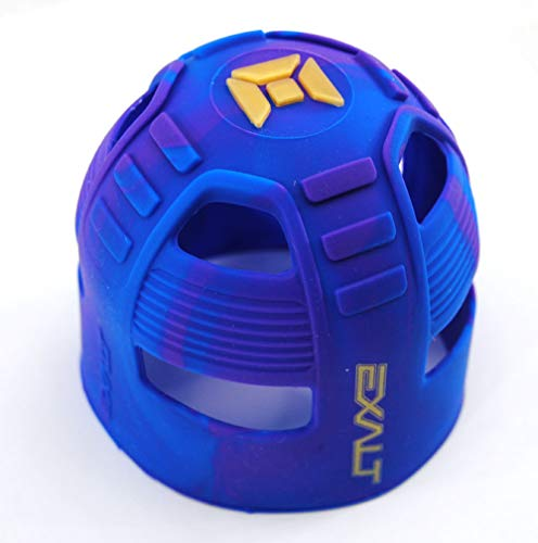Exalt Paintball Protective HPA Tank Rear Cover Purple/Blue Swirl