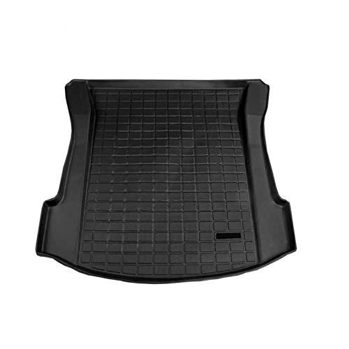 Tappetino per bagagliaio Tesla Model 3 in gomma antiscivolo per bagagliaio auto, vassoio di protezione impermeabile per bagagliaio posteriore tappetino nero impermeabile compatibile per Tesla Model 3