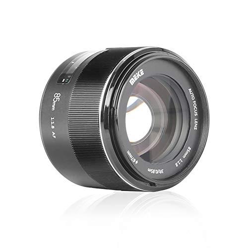 MEKE 85mm F1.8 Auto Focus Full Frame Large Aperture Lens for Nikon F Mount DSLR Cameras D850 D750 D780 D610 D3200 D3300 D3400 D3500 D5500 D5600 D5300 D5100 D7200 and Other F Mount Cameras