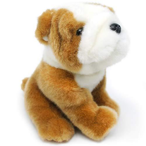 Everett The English Bulldog - 6 Inch Stuffed Animal Plush - by Tiger Tale Toys