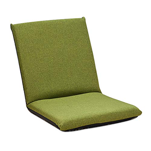 Kids Floor Chair, FOME HOME Adjustable 6-Position Memory Foam Kids Folding Sofa Kids Padded Gaming Chair Lounge Chair Floor Sofa Indoor Comfortable Back Support for a Reading Playing Watching TV