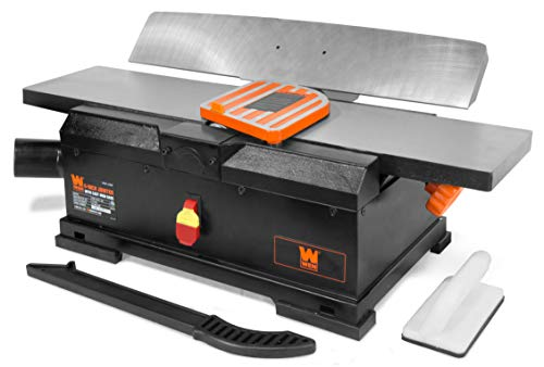 WEN JT6561 10-Amp 6-Inch Corded Benchtop Jointer with Cast Iron Table and Fence
