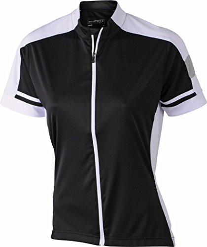 Ladies' Bike-T Full Zip XXL,Black