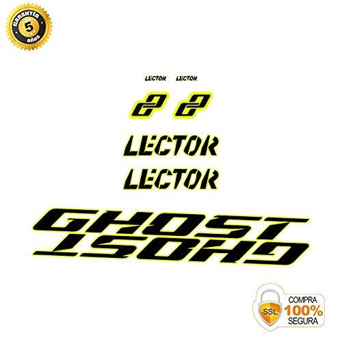Adesivi bici - adesivo decorativo bici - set adesivi vinile bici GHOST LECTOR 5 ADESIVOS TELAIO DELLA BICICLETTA