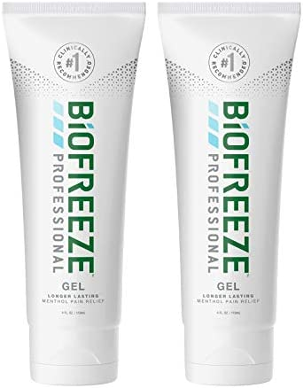 Biofreeze Professional Pain Relief Gel 4 oz Tube Green Pack of 2 product image