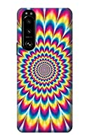 JP3162X53 カラフルなサイケデリック Colorful Psychedelic For Sony Xperia 5 III 用ケース
