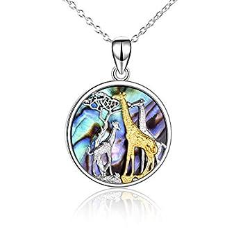 giraffe necklace for women