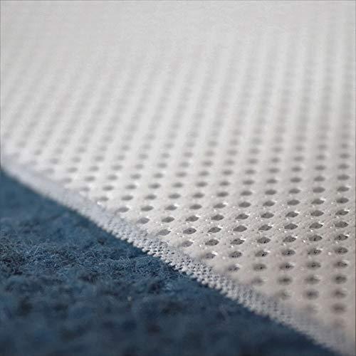TODA 3D Air Mesh Matratzenunterlage Polsterunterlage 3mm Abstandsgewirke Netzgewirke Netzfutter Stoff Innenfutter luftzirkulierend atmungsaktiv (Weiß, 100 x 200 cm)