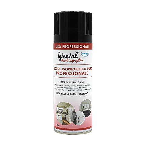 Alcool Isopropilico Puro 400 ml - Ideale per la pulizia ed igienizzazione di qualsiasi superficie