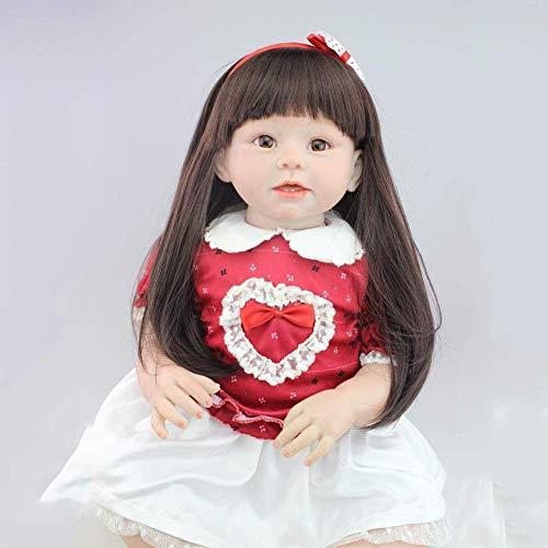 XBR Reborn Dolls, Rebirth Doll, Completo de Silicona, simulacin, Disfraz, Modelo, mueca, Accesorios de fotografa, decoracin para acompaar al beb, Regalo de 70 cm, muecas nutritivas