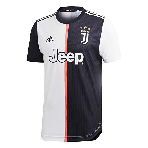adidas Juventus Authentic Primera Equipación 2019-2020, Camiseta, Black-White