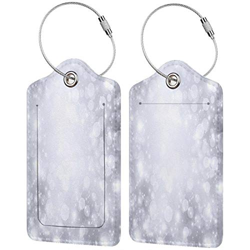 Po Luggage Tags Leather Travel Suitcases Id Identifier Baggage Label Card Holder.