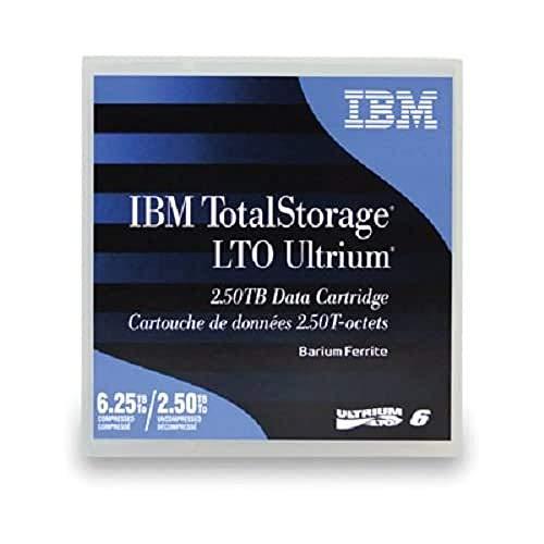 IBM LTO Ultrium 6 Native/Compressed 2.5TB / 6.25TB 1er-Pack Sonderartikel (BaFe) (B)