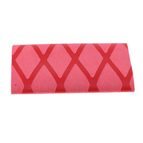 CUTICATE Premium Tischtennisschläger Wickelgriff Gummi Ping Pong Griffband Schwarz - Rot