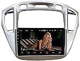 Radio estéreo para automóvil para Toyota Highlander 2000~2007, Sat Nav Navegación GPS de Doble DIN Reproductor Multimedia Digital de 9 Pulgadas Receptor de Video Carplay DSP RDS (Tamaño: 2G + 32G)