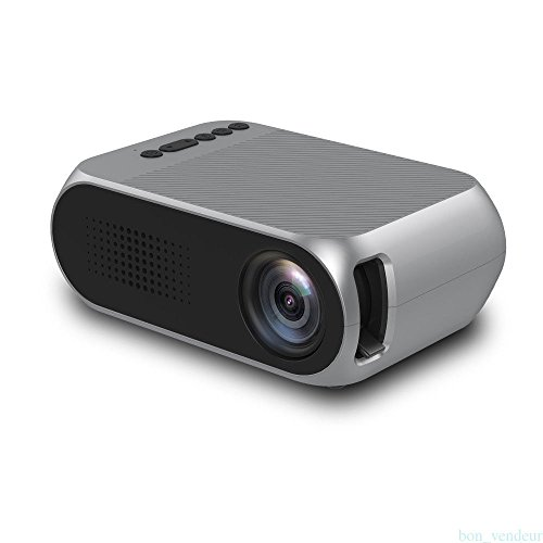 Portable Video Projector,Fosa YG320 LCD Mini Projector Support HD 1080P Max...
