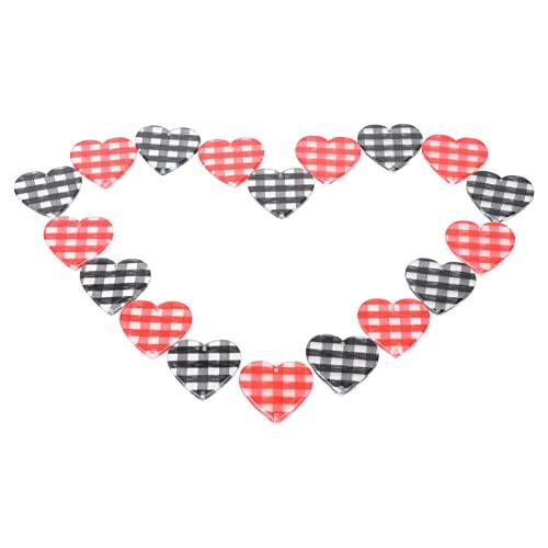 ABOOFAN DIY Kit de Fabricación de Pulseras de Abalorios Acrílicos para Joyería Horquilla Hacer a Cuadros Corazón Colgante para Niños Artesanías Hechas a Mano Pintura en Miniatura Kit