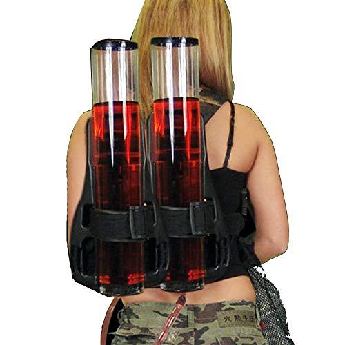 Práctica Máquina de Cerveza Mochila Tipo de maquina expendedora de cerveza de barril doble torre del vino Dispensador al aire libre del alpinismo de bebidas mochila Máquina de Bebida Duradera