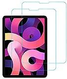 Eachy Cristal Templado iPad Pro 11/iPad Air 4 10.9, [2 Unidades] Protector de Pantalla iPad Pro 11/iPad Air 4 10.9 Vidrio Templado [ANTI ARAÑAZOS] [SIN BURBUJAS]