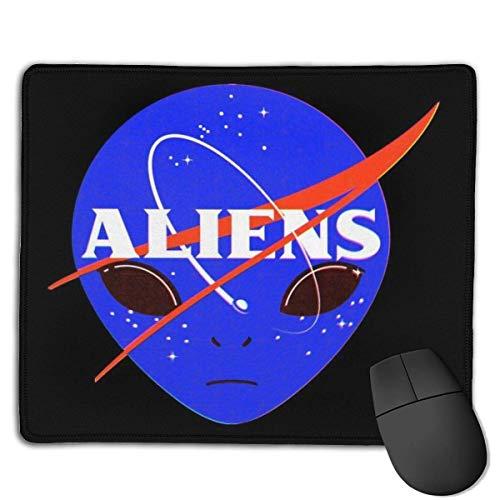 Aliens Space Program diseños personalizados antideslizante goma base Gaming Mouse Pads para, PC, ordenadores, idea.