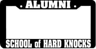 Best school of hard knocks license plate frame Reviews
