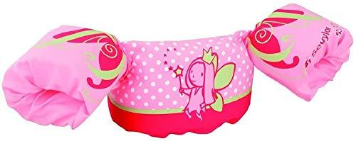SEVYLOR The Original Puddle Jumper Brazo Floats, Todo el año, Infantil, Color Rosa - Pink-Delfin, tamaño Small