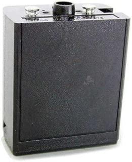 Standard Capacity 1400 mAH Ni-CAD Rechargeable Battery for EPH, LPH, GPH, DPH, KX99 Bendix King Portable Radios, Stealth Black, 0193