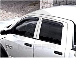 Dodge Ram Crew Cab Mopar Side Window Air Deflector - 82213487